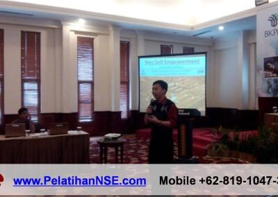 "Sesi ""Neo Self Empowerment"" dalam Workshop SIPID – BKPM RI"