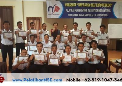 "Workshop ""NSE's Basic Self Empowerment"" Angkatan VII Tahun 2016 – PT. KAI (Persero)"