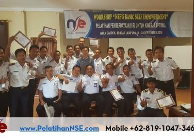 "Workshop ""NSE's Basic Self Empowerment"" Angkatan VIII Tahun 2016 – PT. KAI (Persero)"