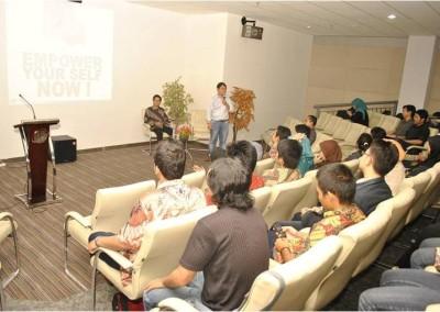 "Seminar ""Fear Management"" – ST Telkom"
