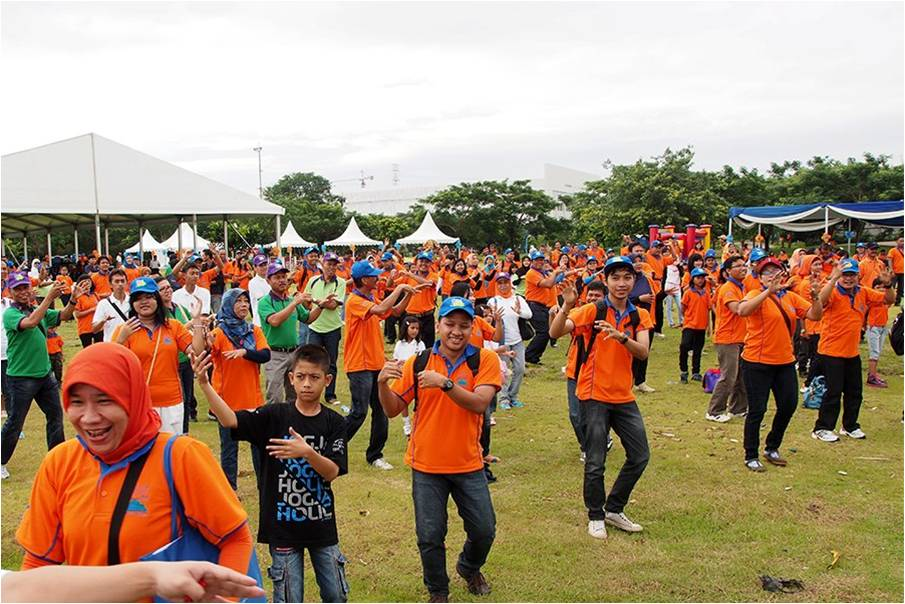 ASDP - Olahraga Tawa - Menari Bersama 500an Peserta