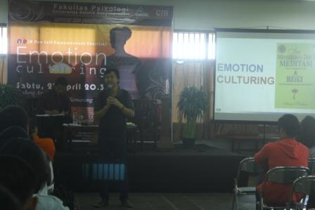 "Seminar & Workshop ""Emotion Culturing"" – Unika Soegijapranata"