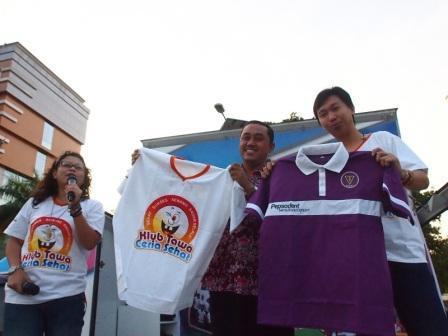 Project - Olahraga Tawa di Semarang - PDGI - Bersama dr. Widoyono, MPH Kepala Dinas Kesehatan Semarang