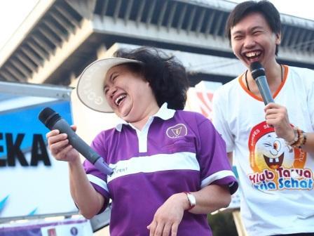 Project - Olahraga Tawa di Semarang - PDGI - Bersama drg. Lani