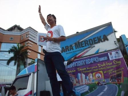 Project - Olahraga Tawa di Semarang - PDGI - Menjelaskan Manfaat Tawa
