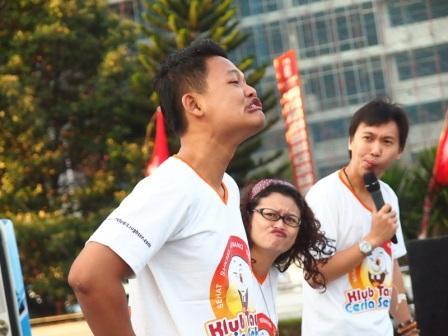 Project - Olahraga Tawa di Semarang - PDGI - Pemanasan Wajah