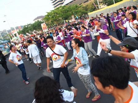 Project - Olahraga Tawa di Semarang - PDGI - Serunya Suasana