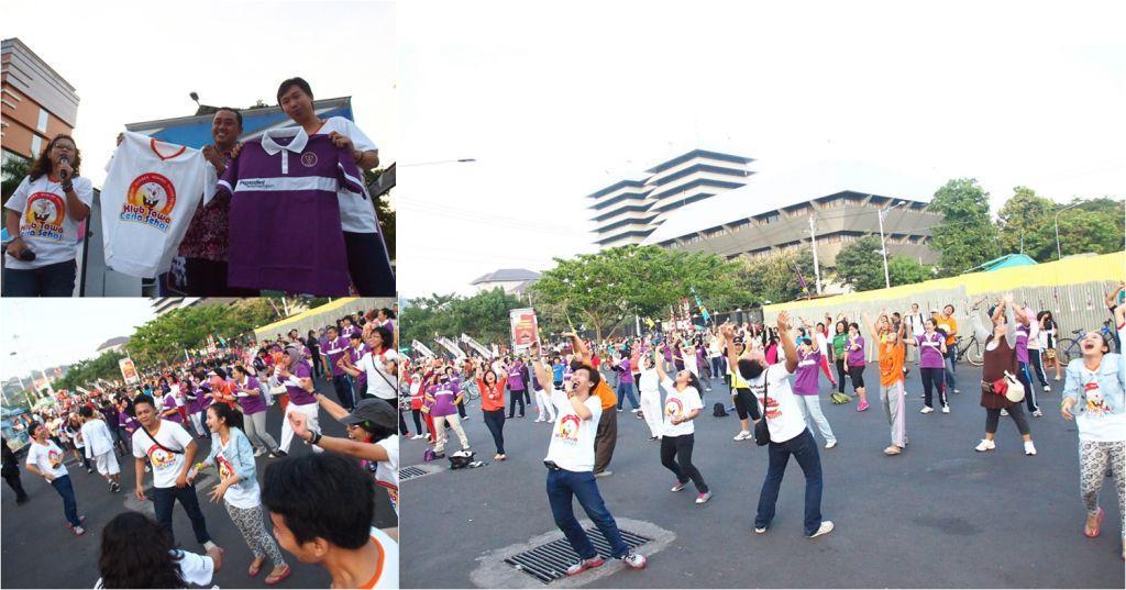 Olahraga Tawa di Kota Semarang