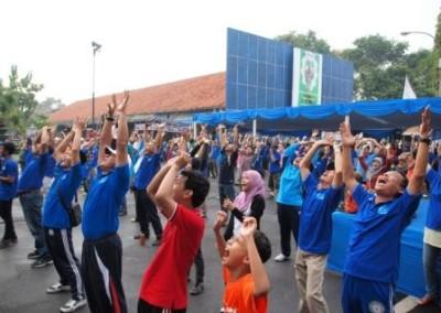 Project - Olahraga Tawa PT. PAL Indonesia (Persero) - Ceria dan bersemangat