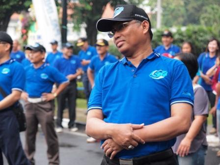 Project - Olahraga Tawa PT. PAL Indonesia (Persero) - Dirut PT PAL Indonesia (Persero), Bapak Muhammad Firmansyah Arifin, ikut tertawa bersama