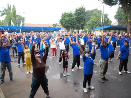 Project - Olahraga Tawa PT. PAL Indonesia (Persero) - Lepaskan Tawa ke udara