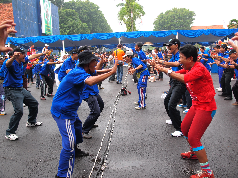Project - Olahraga Tawa PT. PAL Indonesia (Persero) - Tawa Singa agar Percaya Diri