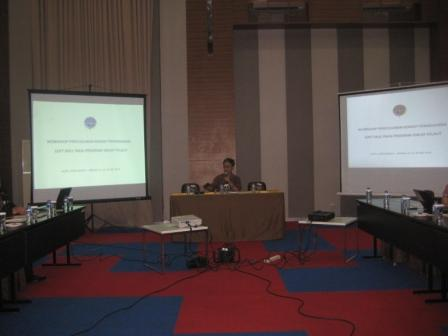 Project - Neo Self Empowerment - Pusbang Laut BPSDM Perhubungan - Capt. Indra Priyatna membuka acara