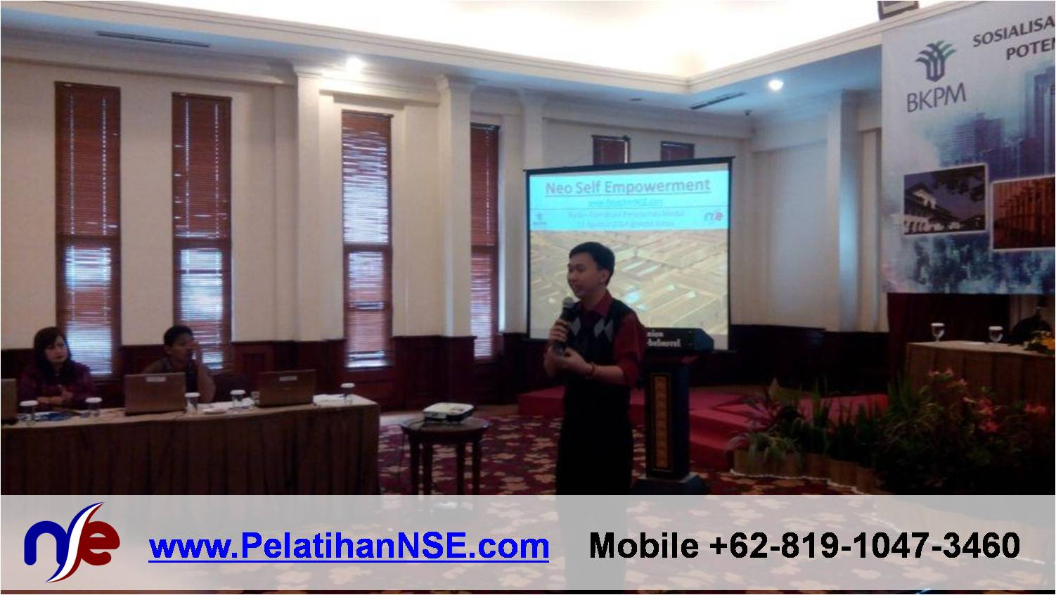"Sesi ""Neo Self Empowerment"" dalam Workshop SIPID – BKPM RI"