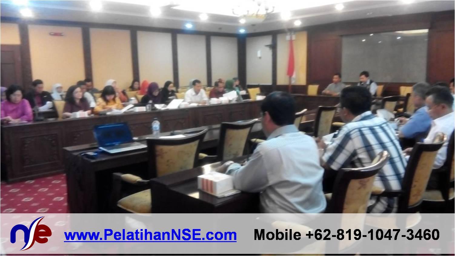 Project - Kemenakertrans RI - Etos Kerja - Dibuka oleh Pak Buyamin, Kabag Pengembangan Pegawai