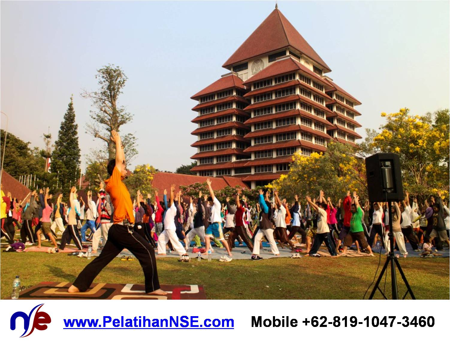 """Yoga for Life"" – KMHD Universitas Indonesia"