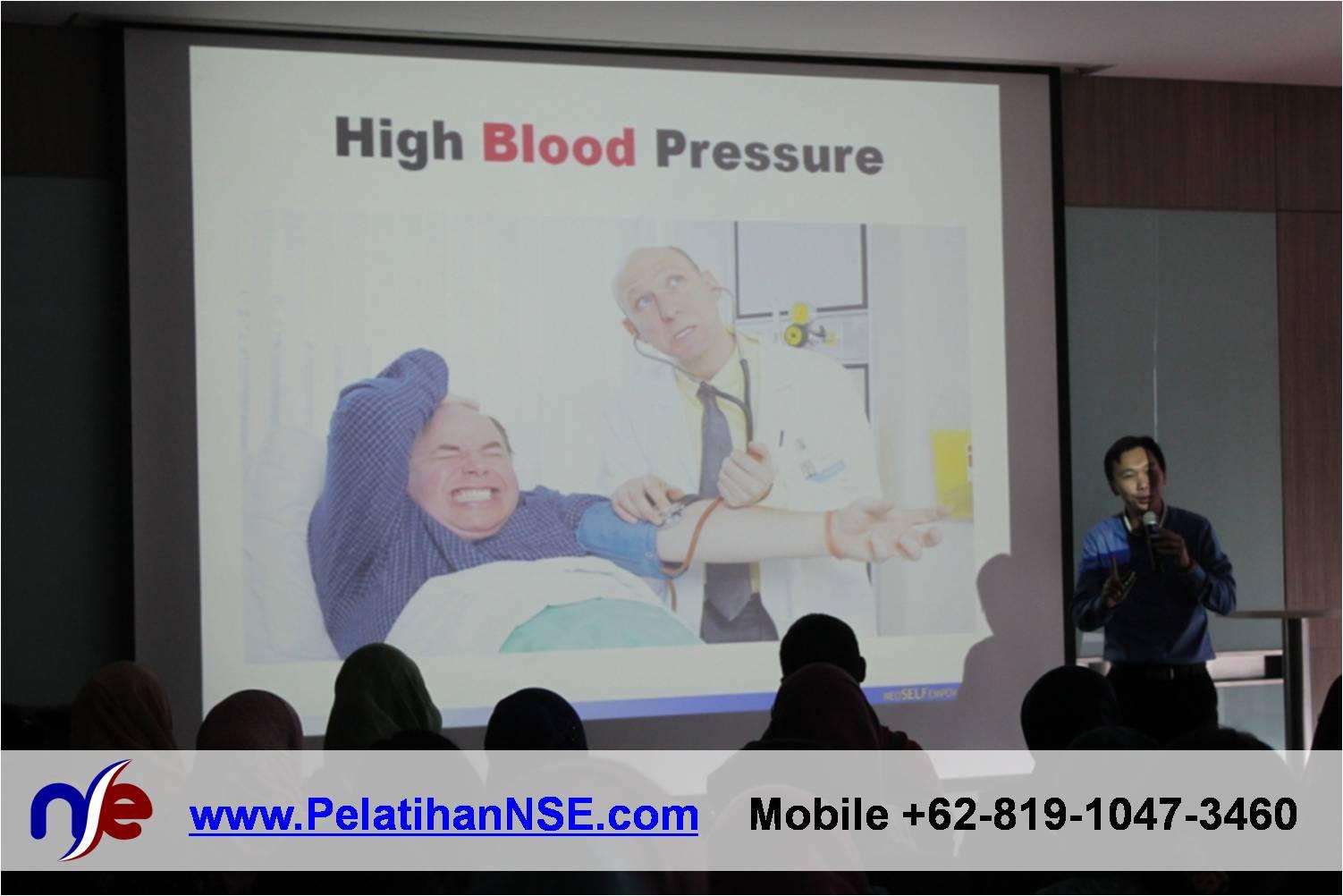 Flash Seminar Stress Management - BTPN - Materi dibawakan Manajer NSE Haryadi