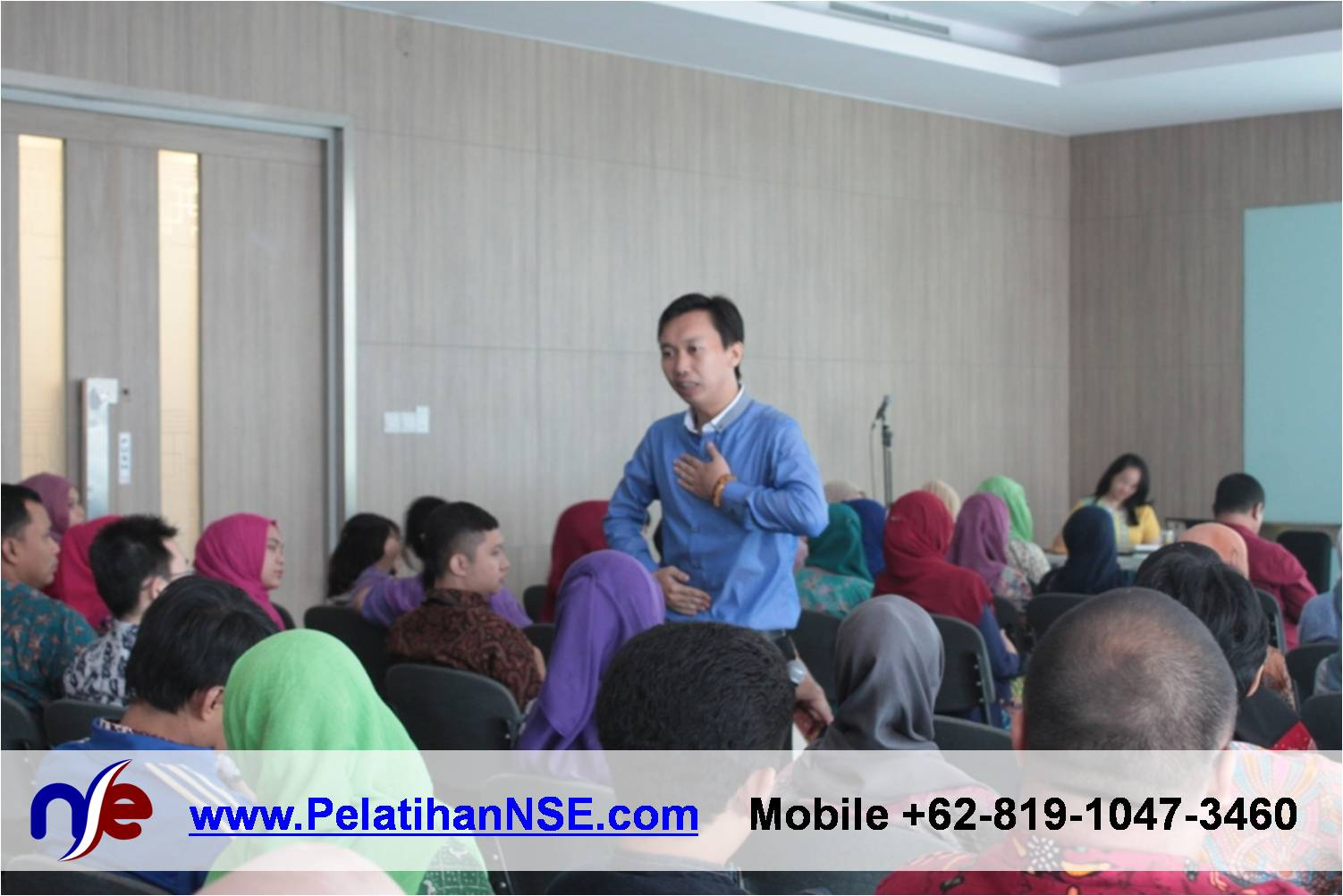 Flash Seminar Stress Management - BTPN - Pernapasan Perut atau Dada