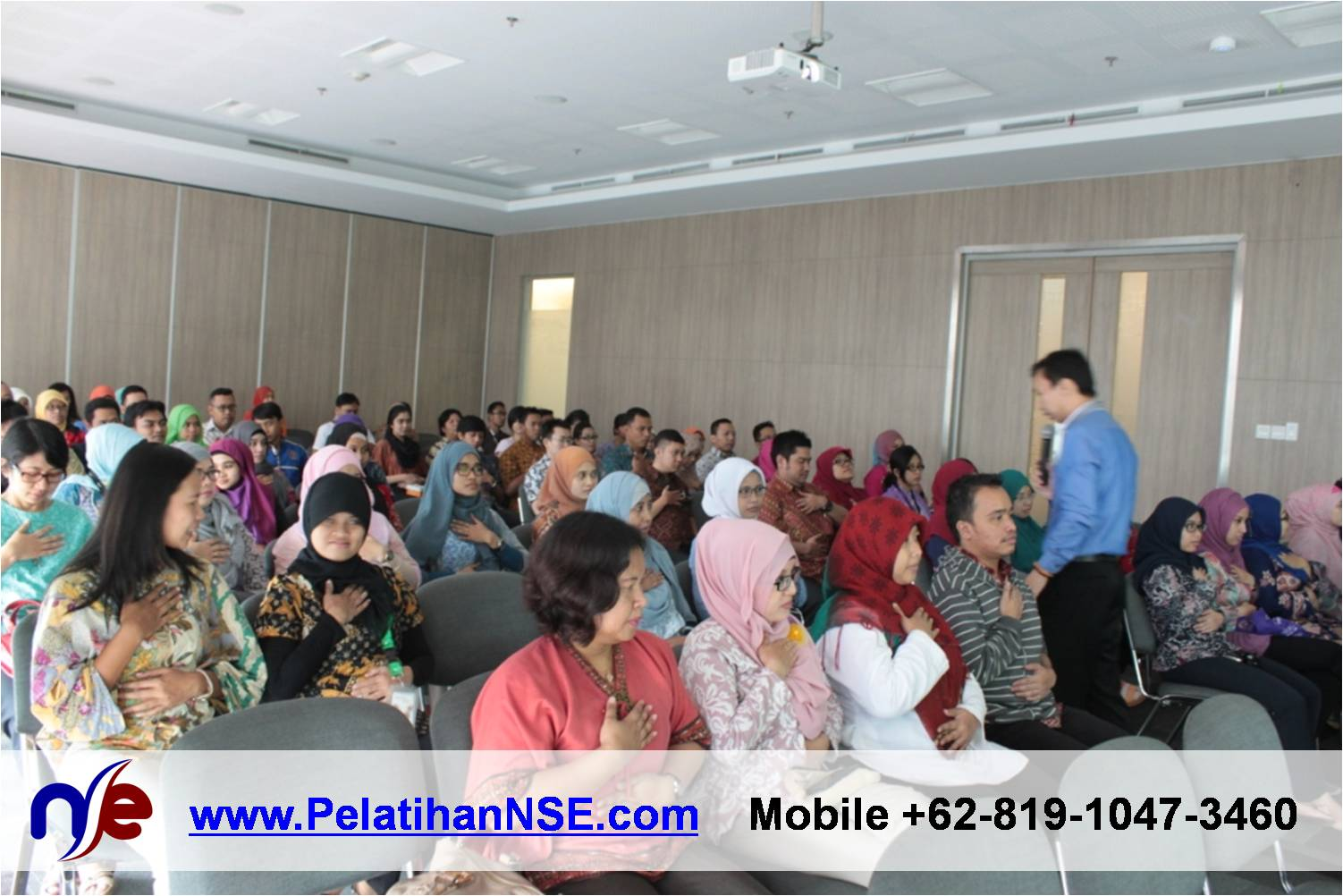 Flash Seminar Stress Management - BTPN - Tes Kualitas Pernapasan