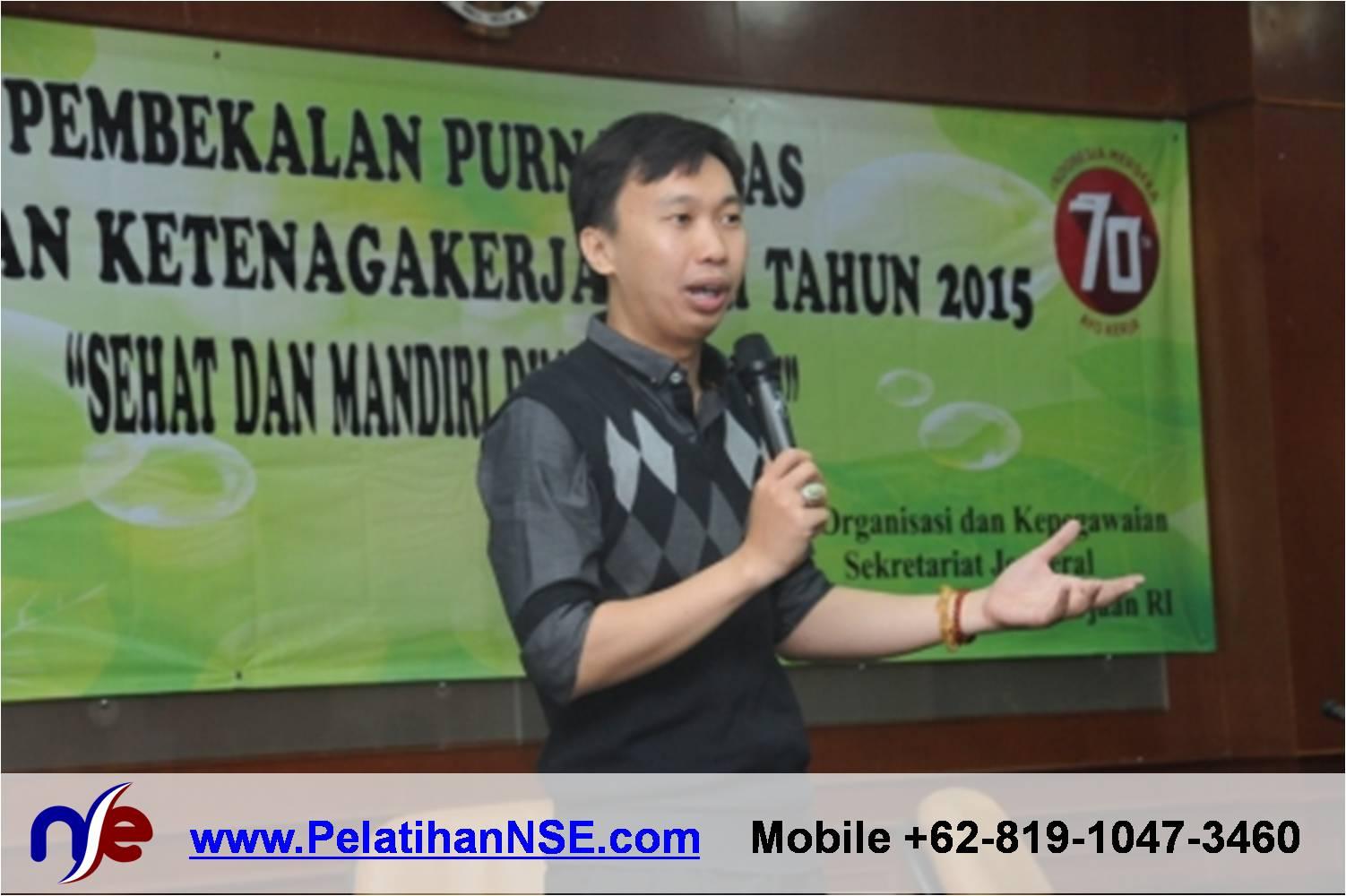 Retiree Empowerment - Kementerian Tenaga Kerja RI - Materi oleh Pak Haryadi