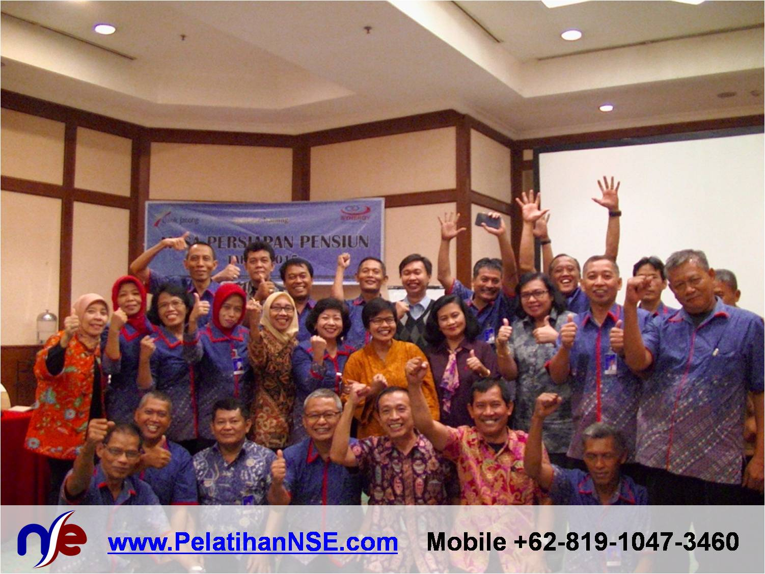 Retiree Empowerment - Bank Jateng - Foto Bersama Para Peserta