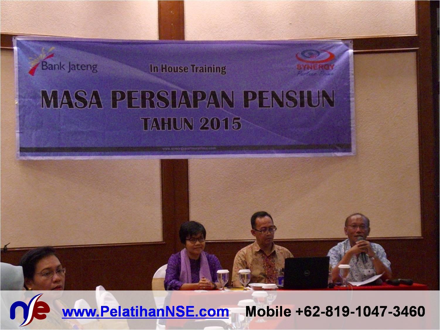 Retiree Empowerment - Bank Jateng - Pembukaan oleh Bagian Diklat