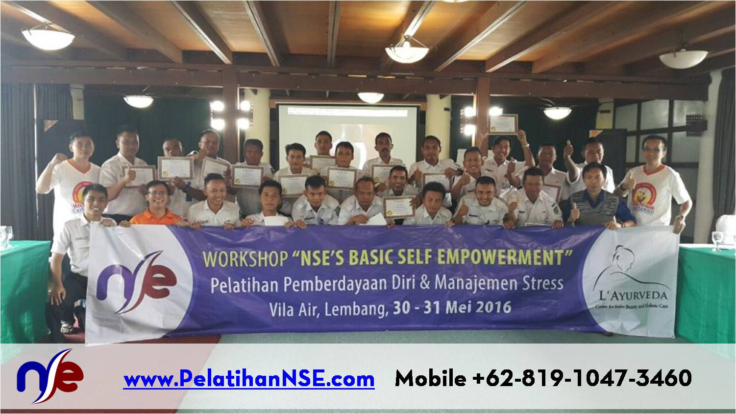 "Workshop ""NSE's Basic Self Empowerment"" Angkatan I Tahun 2016 – PT. KAI (Persero)"