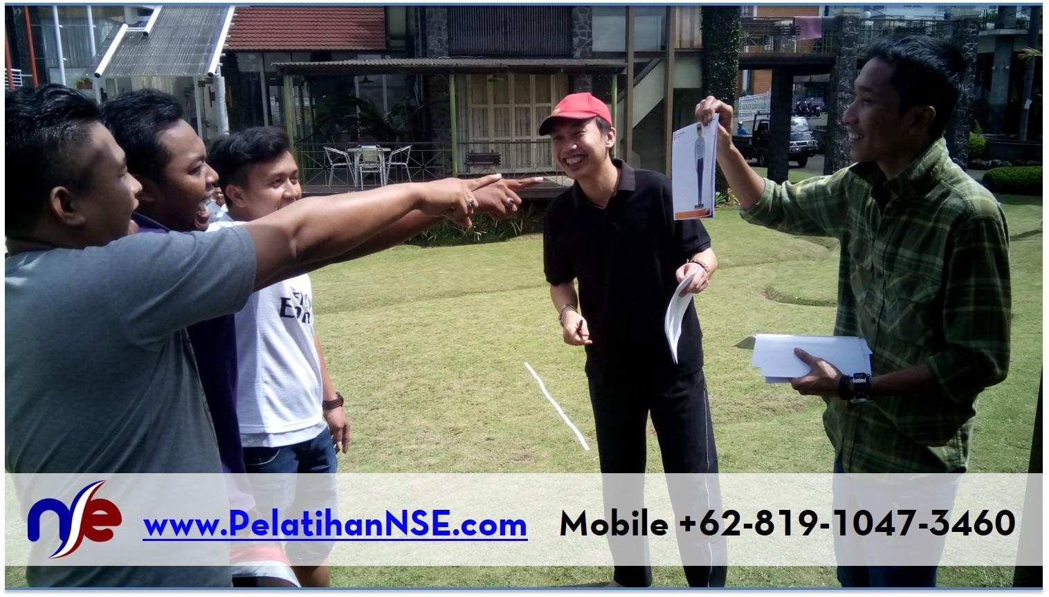 NSE Basic Self Empowerment KAI 1-2 Agustus 2016 - Games Tunjuk Sebut Semboyan