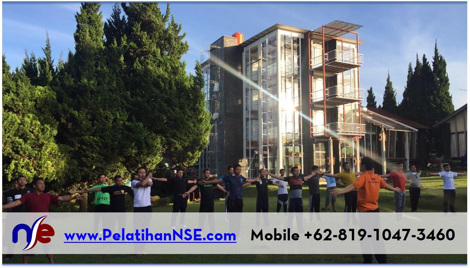 NSE Basic Self Empowerment KAI 1-2 Agustus 2016 - Olahraga Pagi