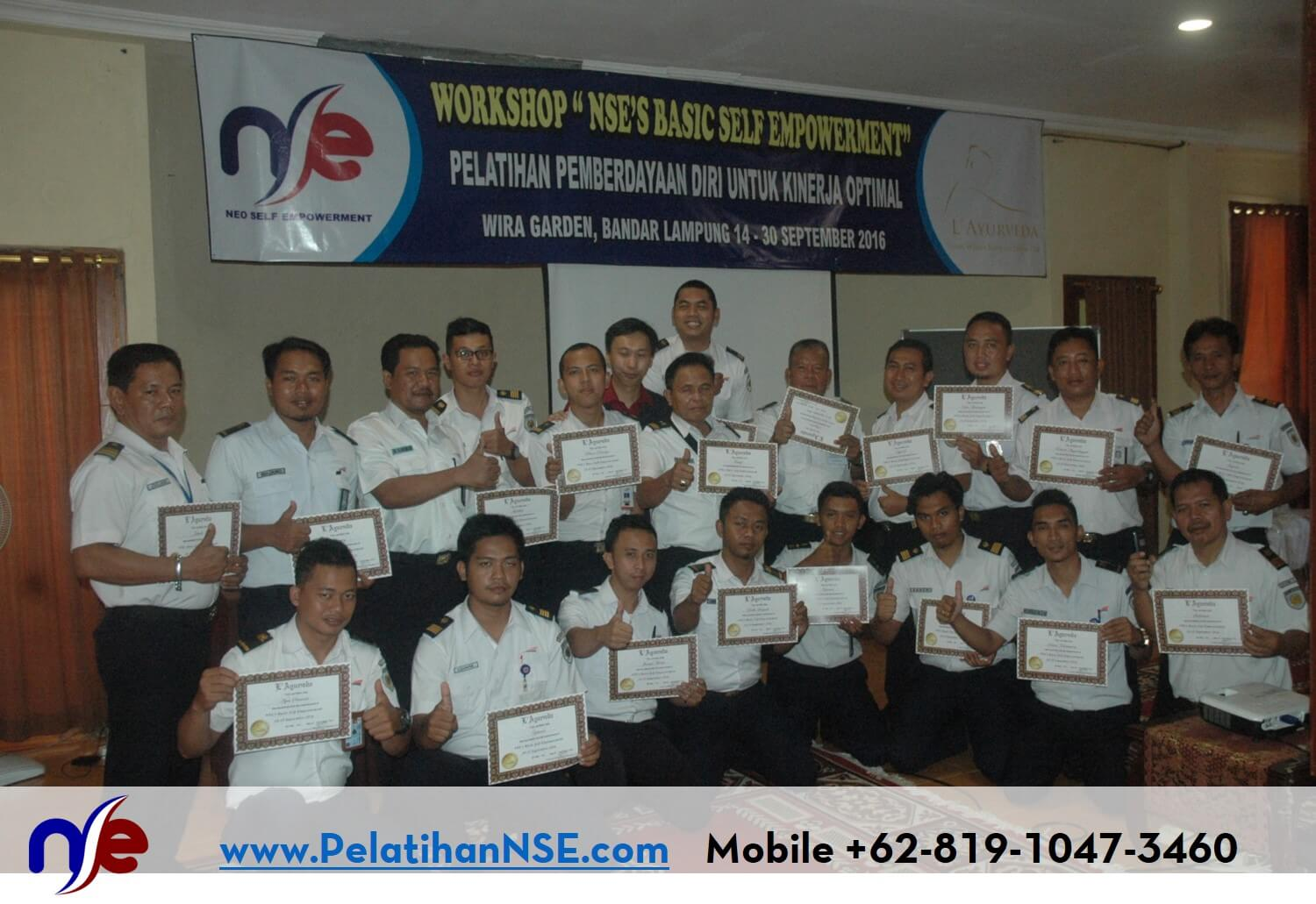 NSE Basic Self Empowerment KAI 14-15 September 2016 - Foto Bersama
