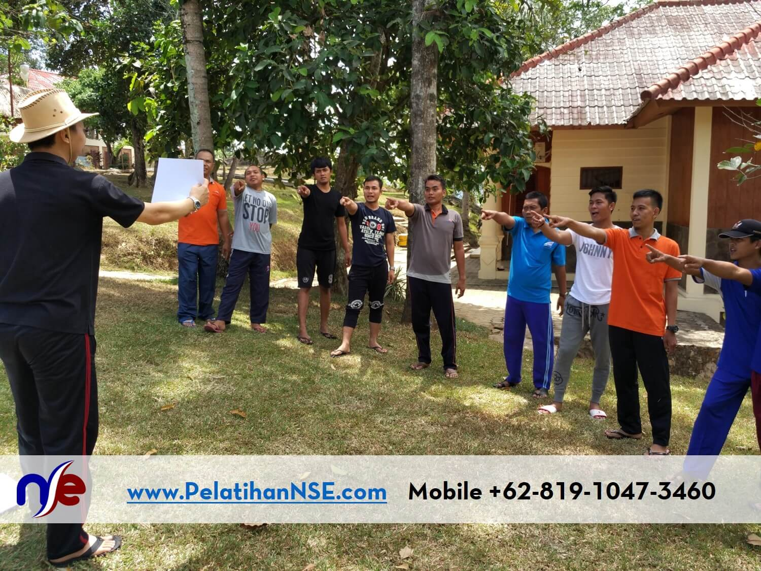 NSE Basic Self Empowerment KAI 16-17 September 2016 - Games Tunjuk Sebut Semboyan