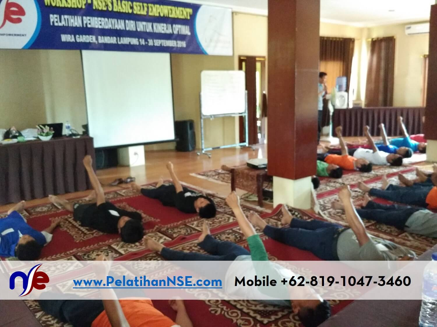 NSE Basic Self Empowerment KAI 16-17 September 2016 - Speedy Relaxation Technique sambil Berbaring