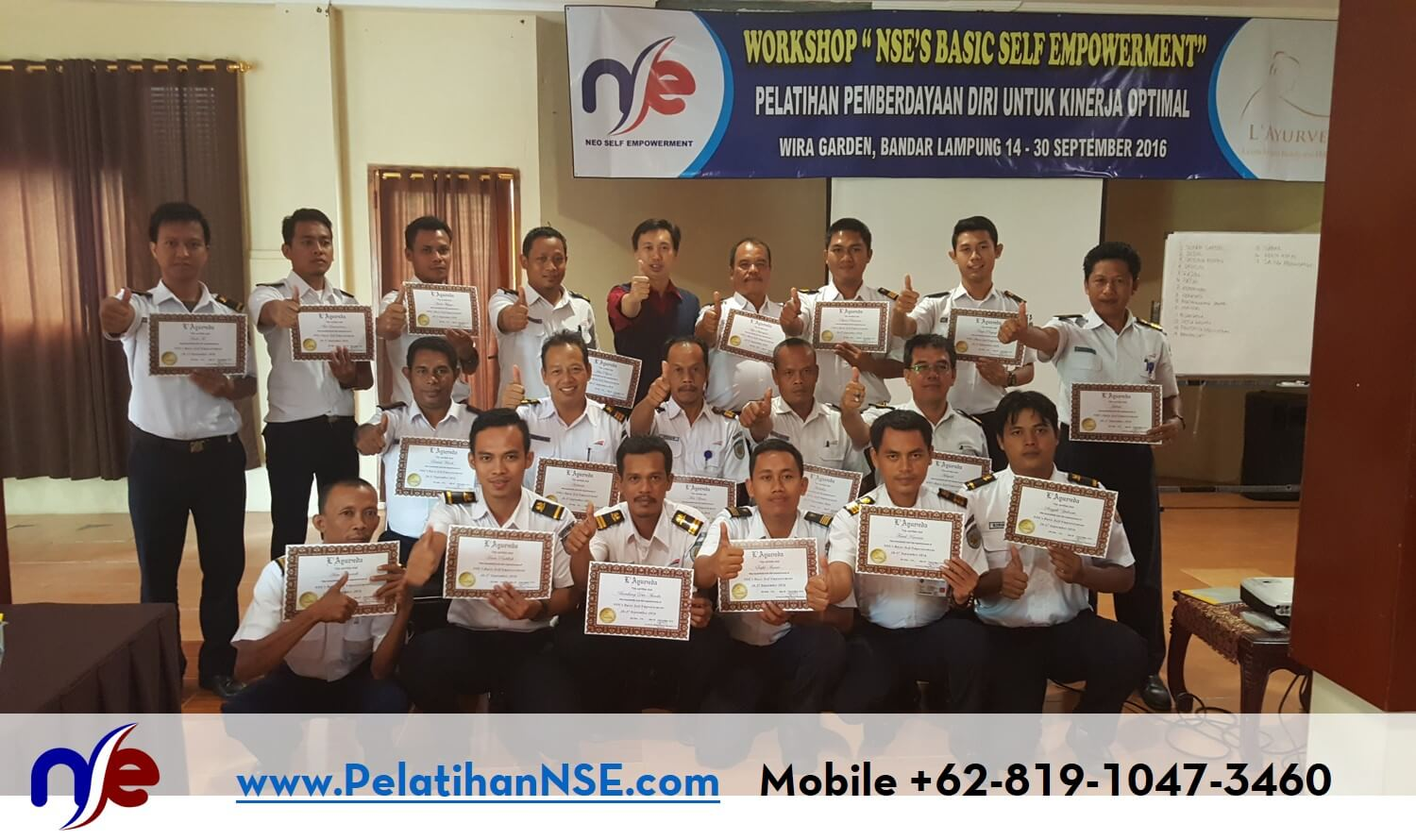 Basic Self Empowerment PT. KAI (Persero) 26-27 September 2016 - Foto Bersama