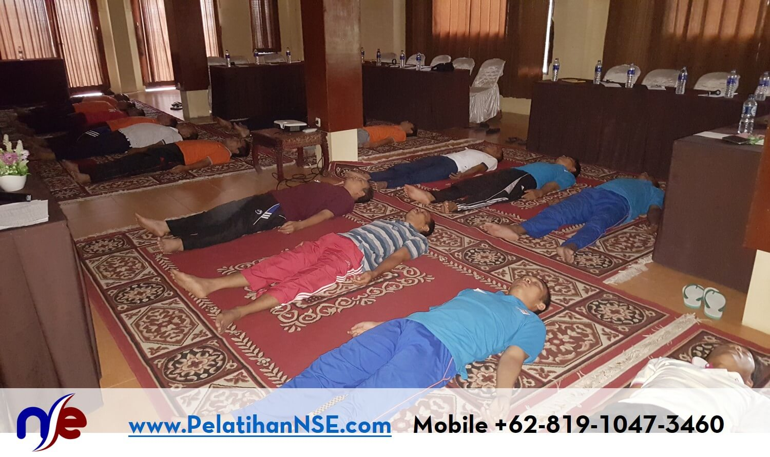 NSE Basic Self Empowerment KAI 26-27 September 2016 - Speedy Relaxation Technique sambil Berbaring