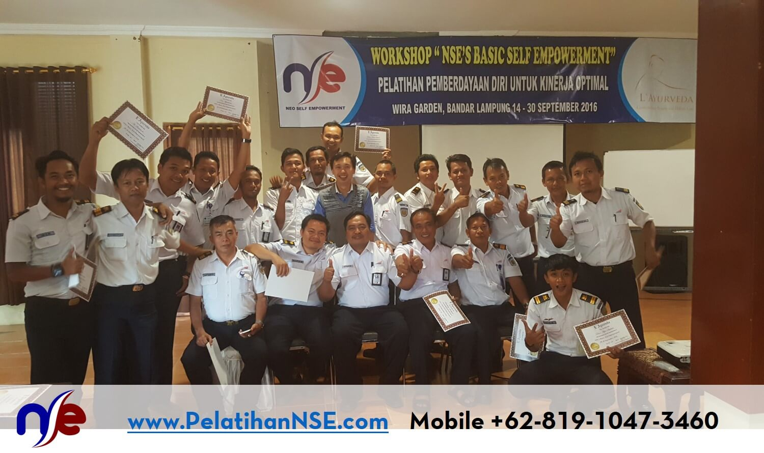 Basic Self Empowerment PT. KAI (Persero) 29-30 September 2016 - Foto Bersama