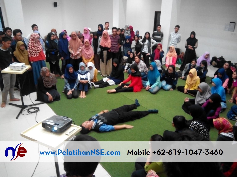 Katarsis UNDIP 18 Oktober 2016 - Haryadi menjelaskan tentang posisi berbaring