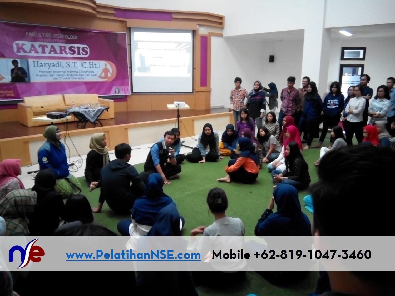 Katarsis UNDIP 18 Oktober 2016 - Haryadi menjelaskan tentang langkah-langkah katarsis