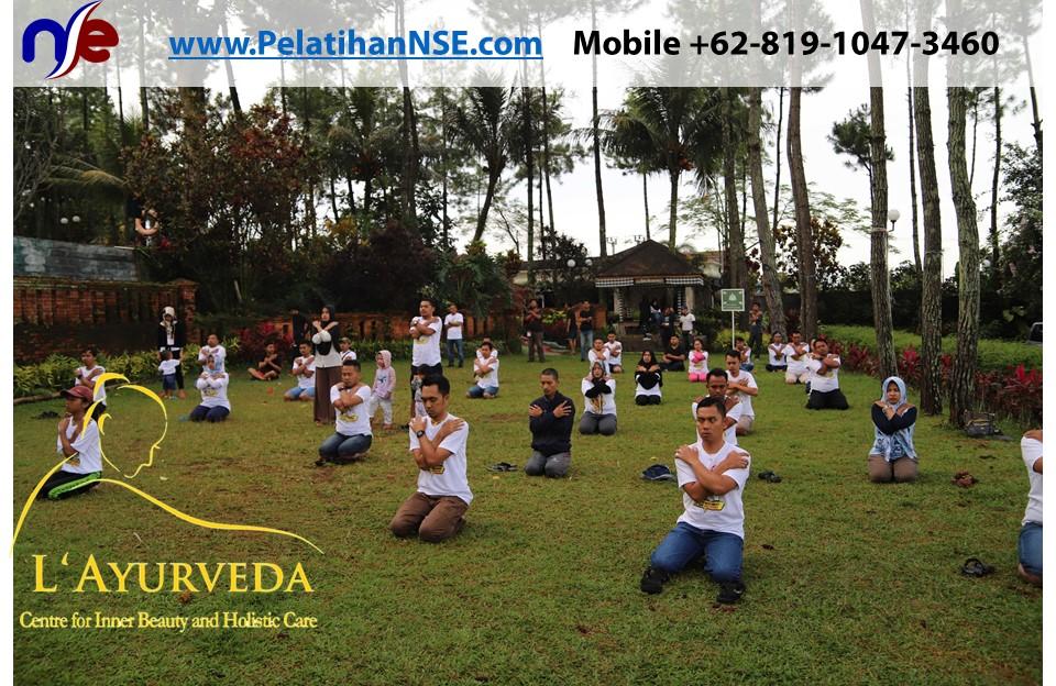 L'Ayurveda Pelatihan NSE - Family Gathering Kereta Commuter Indonesia Angkatan II 2018 - 21-22 Maret 2018 - AIM Yoga