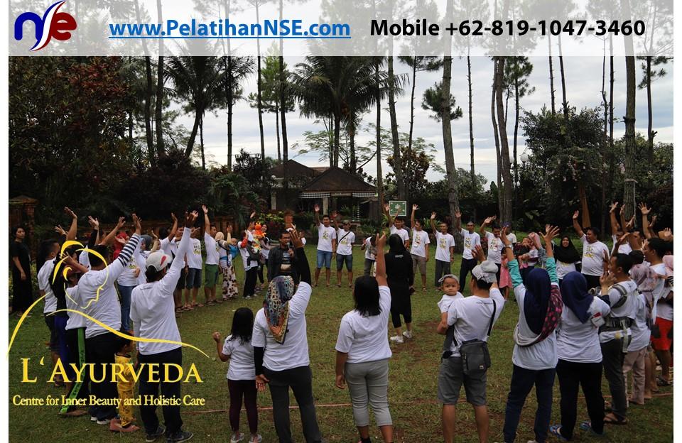 L'Ayurveda Pelatihan NSE - Family Gathering Kereta Commuter Indonesia Angkatan II 2018 - 21-22 Maret 2018 - Bermain bersama
