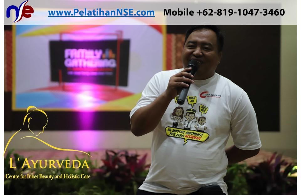 L'Ayurveda Pelatihan NSE - Family Gathering Kereta Commuter Indonesia Angkatan II 2018 - 21-22 Maret 2018 - Manager Crew Pak Suparmono