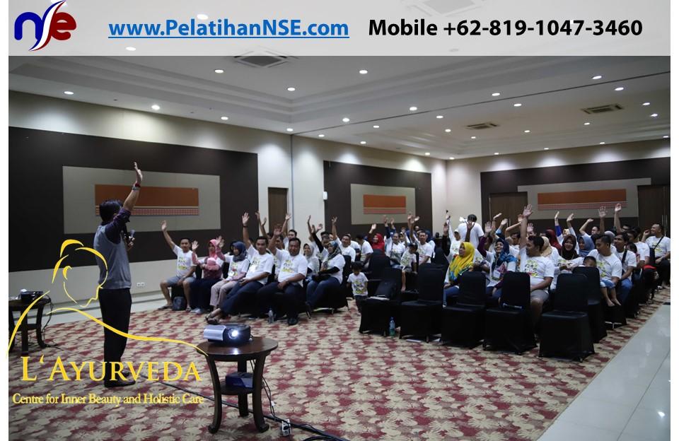 L'Ayurveda Pelatihan NSE - Family Gathering Kereta Commuter Indonesia Angkatan II 2018 - 21-22 Maret 2018 - Materi Pak Haryadi