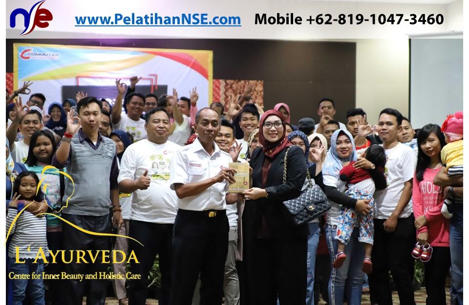 L'Ayurveda Pelatihan NSE - Family Gathering Kereta Commuter Indonesia Angkatan II 2018 - 21-22 Maret 2018 - Suvenir dari Dirut Synergy