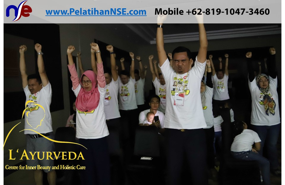 L'Ayurveda Pelatihan NSE - Family Gathering Kereta Commuter Indonesia Angkatan II 2018 - 21-22 Maret 2018 - Teknik Rileksasi