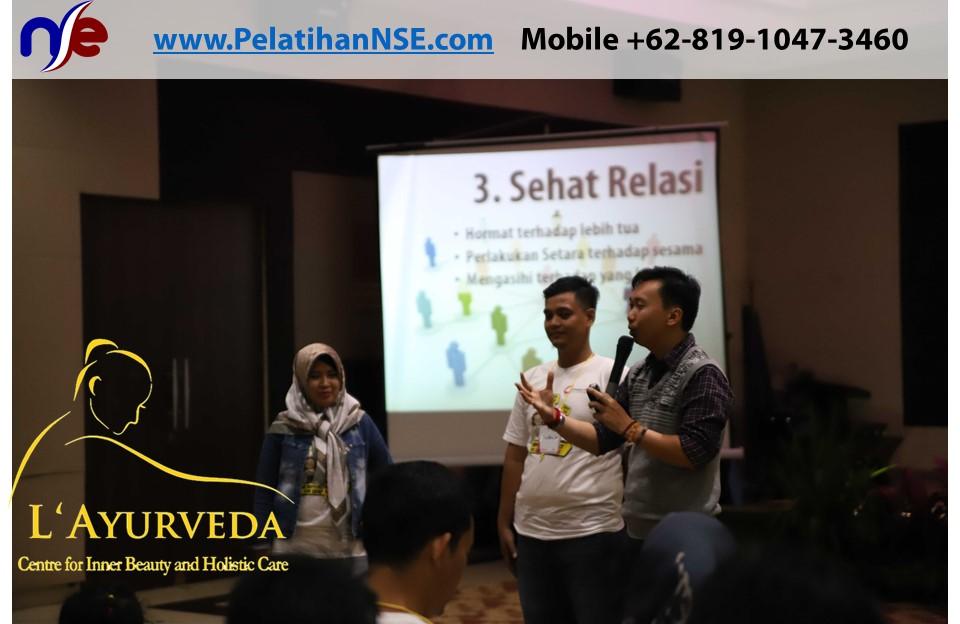 L'Ayurveda Pelatihan NSE - Family Gathering Kereta Commuter Indonesia Angkatan II 2018 - 21-22 Maret 2018 - Tips-tips sehat relasi