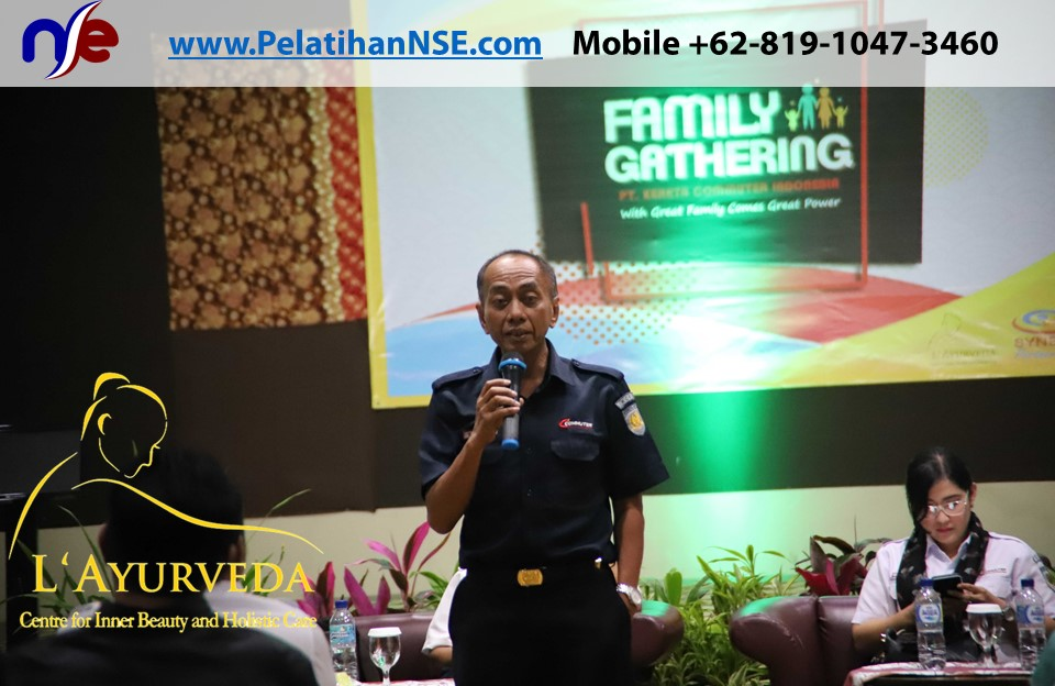 L'Ayurveda Pelatihan NSE - Family Gathering Kereta Commuter Indonesia Angkatan I Tahun 2018 - 20-21 Maret 2018 - Direktur Operasi Pak Su