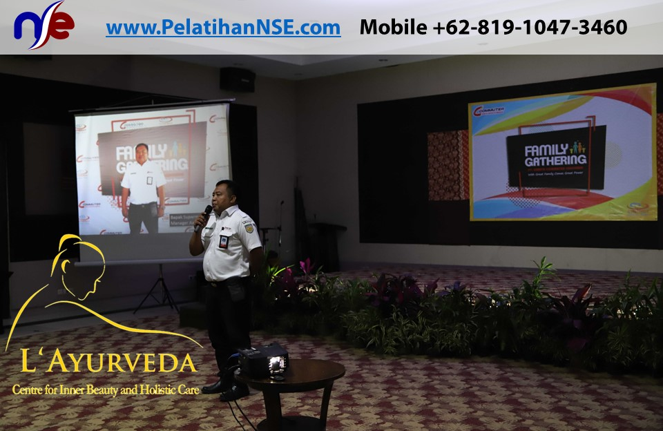 L'Ayurveda Pelatihan NSE - Family Gathering Kereta Commuter Indonesia Angkatan I Tahun 2018 - 20-21 Maret 2018 - Manager Crew Pak Supar