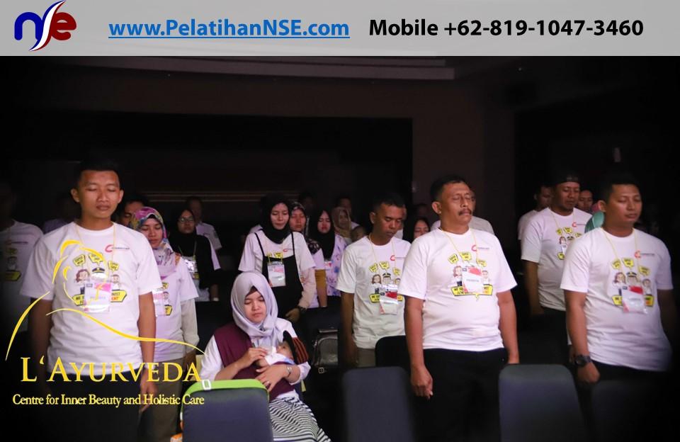 L'Ayurveda Pelatihan NSE - Family Gathering Kereta Commuter Indonesia Angkatan I Tahun 2018 - 20-21 Maret 2018 - Sesi Rileksasi