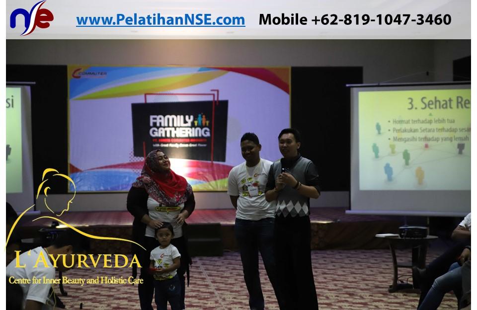 L'Ayurveda PelatihanNSE - Family Gathering Kereta Commuter Indonesia Angkatan III 2018 - 27-28 Maret 2018 - Membahas Komunikasi