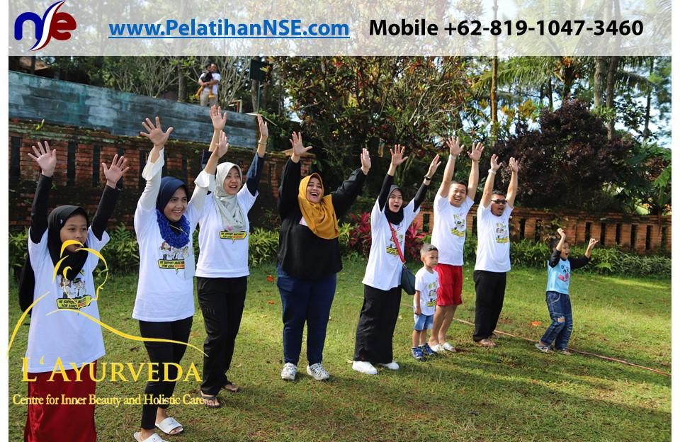L'Ayurveda PelatihanNSE - Family Gathering Kereta Commuter Indonesia Angkatan III 2018 - 27-28 Maret 2018 -Semangat bermain