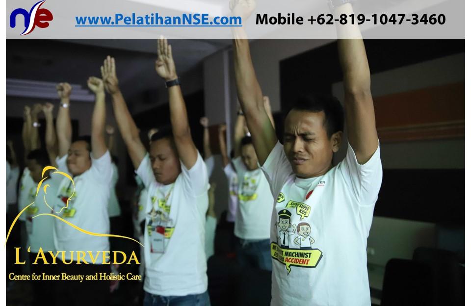 L'Ayurveda PelatihanNSE - Family Gathering Kereta Commuter Indonesia Angkatan III 2018 - 27-28 Maret 2018 - Teknik Rileksasi Kilat
